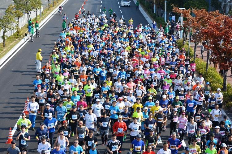 六甲アイランドマラソン 写真 - コピー