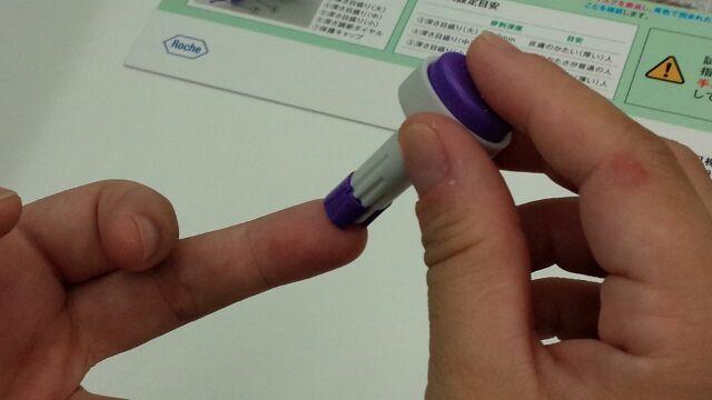 簡易血液検査①